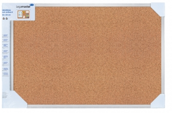 , Prikbord Legamaster universal 60x90cm kurk retailverpakking