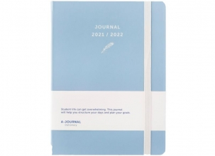 , A-Journal Schoolagenda 2021/2022 - Lavendel Blauw