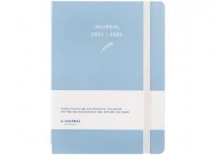 , A-Journal Schoolagenda 2021/2022 - Lavendel Blauw