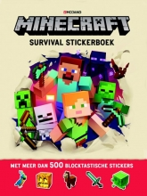 Craig  Jelly, Stephanie  Milton Minecraft Survival Stickerboek