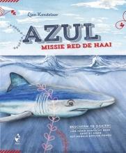 Lian  Kandelaar Azul - Missie red de haai - haaien kinderboeken