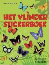Het vlinder stickerboek