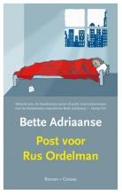 Bette  Adriaanse Post voor Rus Ordelman