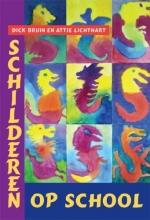 A. Lichthart Dick Bruin, Schilderen op school