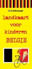 Jeurissen, Dagmar / Amsterdam, Janneke van Landkaart voor kinderen  / Belgie
