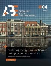 Dasa  Majcen Predicting energy consumption and savings in the housing stock