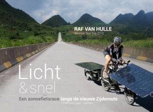 Raf Van Hulle , Met de zonnefiets langs de Zijderoute
