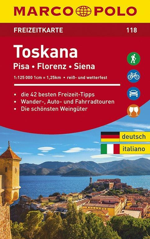 ,MARCO POLO Freizeitkarte Toskana 1:100 000