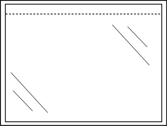,Paklijstenvelop Quantore zelfklevend blanco 165x121mm 1000st