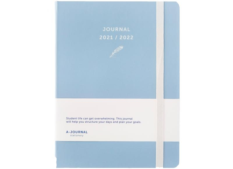 ,A-Journal Schoolagenda 2021/2022 - Lavendel Blauw