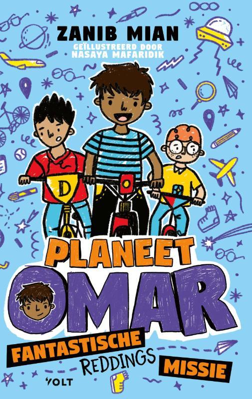 Zanib Mian,Planeet Omar: fantastische reddingsmissie