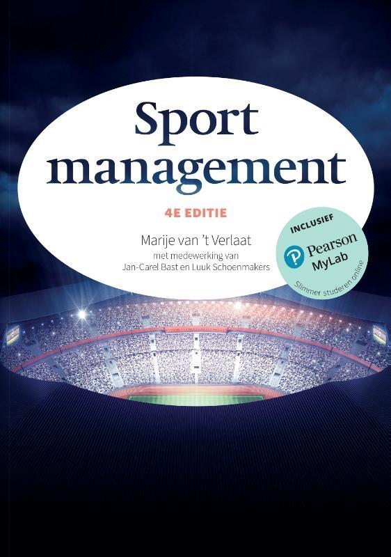 Marije van `t Verlaat,Sportmanagement, 4e editie met MyLab NL toegangscode