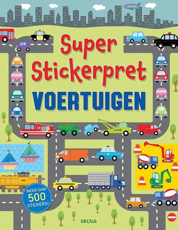 ,Super Stickerpret - Voertuigen