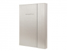 ,<b>notitieboek Sigel Conceptum Glam hardcover A5               magneetsluiting Champagne</b>