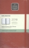 ,Moleskine 12 month - weekly - large - scarlet red - soft cover