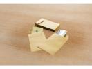 ,loonzakje Raadhuis 65x105mm bruin doos a 1000 stuks
