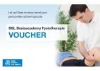 ,Jaarlicentie BSL Basisacademy Fysiotherapie voucher