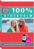 <b>Saskia de Leeuw</b>,100% stedengids : 100% Stockholm