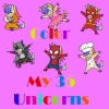 <b>Blondia  Bert</b>,My 35 Unicorns Color