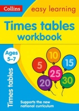 Collins Easy Learning,   Simon Greaves Times Tables Workbook Ages 5-7: New Edition