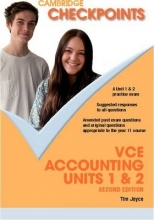 Joyce, Tim Cambridge Checkpoints Vce Accounting Units 1 and 2