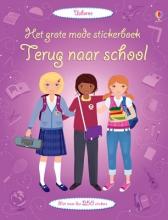 Grote mode stickerboek Terug naar school
