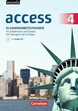 Häntzschel, Katrin,   Rademacher, Jörg English G Access Band 4: 8. Schuljahr - Allgemeine Ausgabe - Klassenarbeitstrainerr mit Audios und Lösungen online und Lerntipps