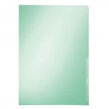 , Insteekmap L-map Leitz premium A4 PVC groen