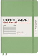 Lt363927 , Leuchtturm notitieboek composition softcover 178x254 mm lijn sage lichtgroen