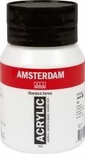 Talens amsterdam acrylverf pot 500 ml. titaanwit 105