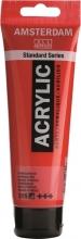 , Talens amsterdam acrylverf tube 120 ml pyrrolle rood 315