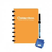 , Notitieboek Correctbook A5 blanco 40blz peachy orange