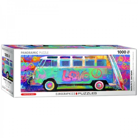 Eur-6010-5549,Puzzel samba pa` ti love bus vw panorama  eurographics 1000 stukjes