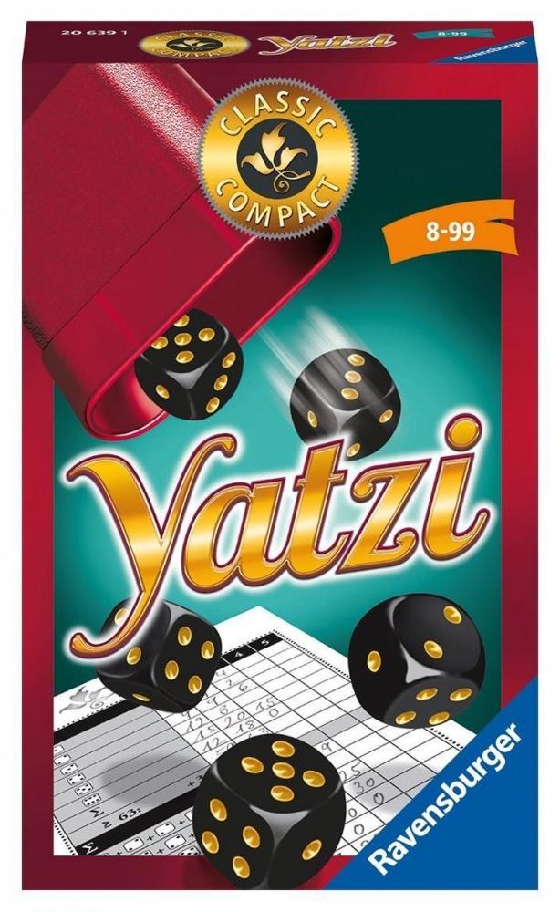 Rav-206391,Spel ravensburger yatzi compact