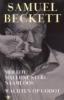 Samuel Beckett, Wachten op Godot en drie romans