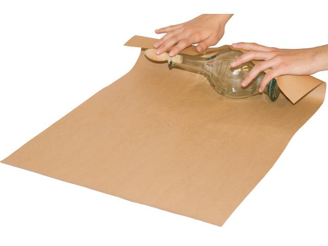 ,Inpakpapier Raadhuis 50cm x 250m bruin