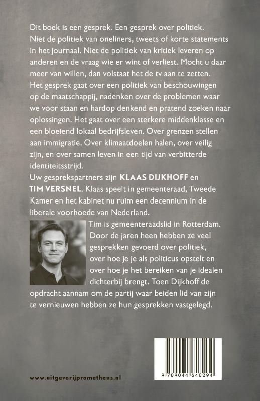 Klaas Dijkhoff, Tim Versnel,Alles komt goed
