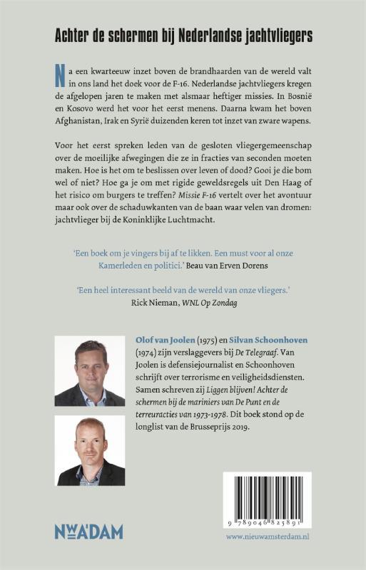 Olof van Joolen, Silvan Schoonhoven,Missie F-16
