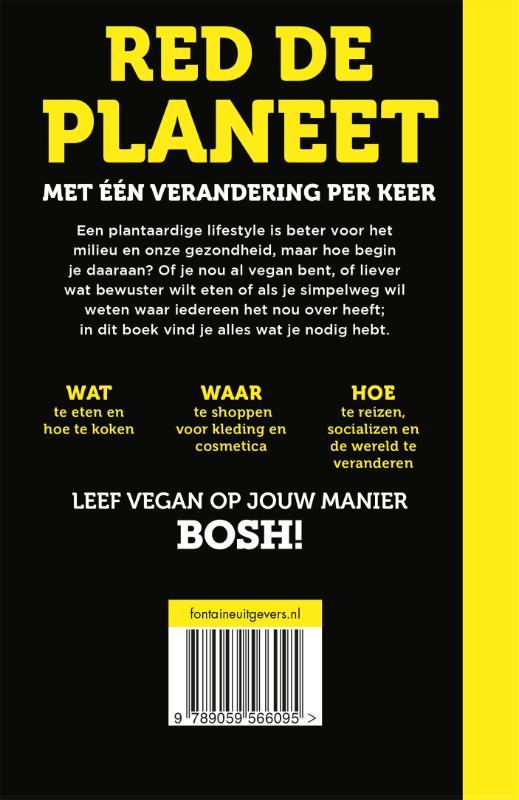 Henry Firth, Ian Theasby,BOSH! Hoe leef je vegan?
