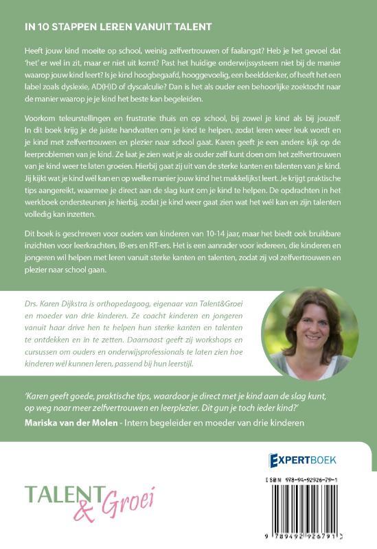 Karen Dijkstra-Wiersma,In 10 stappen leren vanuit talent