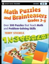 Terry Stickels Math Puzzles and Brainteasers, Grades 3-5