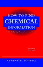 Robert E. Maizell How to Find Chemical Information