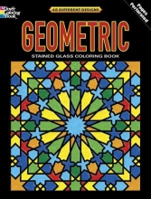 Dover Geometric Stained Glass Coloring Book