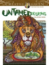 Roytman, Arkady Creative Haven Untamed Designs Coloring Book