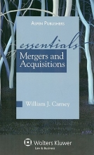 Carney, William J. Mergers and Acquisitions