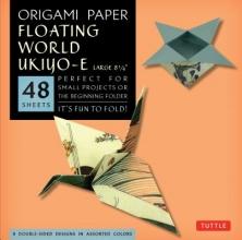 Tuttle,Publishing Origami Paper Floating World Ukio-e (large)