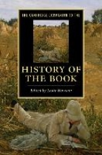 Howsam, Leslie Cambridge Companion to the History of the Book