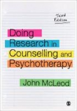 John McLeod Doing Research in Counselling and Psychotherapy