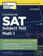 The Princeton Review Cracking the SAT Subject Test in Math 1