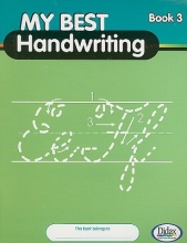 My Best Handwriting, Book 3